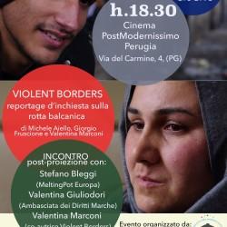 Violent borders – reportage d'inchiesta lungo la rotta balcanica