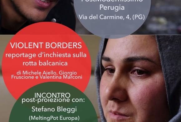 Violent borders – reportage d'inchiesta sulla rotta balcanica